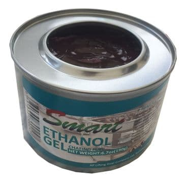 2.1/2 Hours (1 can) ETHANOL GEL FUEL smokeless non-toxic  camping catering bbq